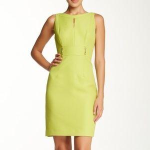 Tahari Sleeveless Jacquard Dress